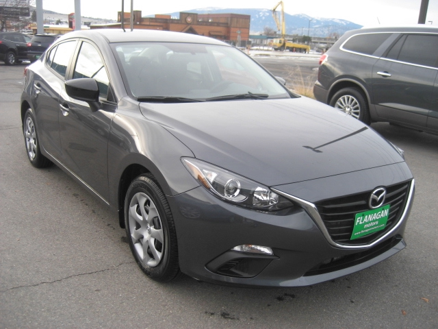 new 2015 mazda mazda3 i sv i sv 4dr sedan 6a in missoula 14208a flanagan motors mazda. Black Bedroom Furniture Sets. Home Design Ideas